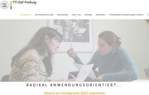 Vorschau von www.daf-lehrer.de, International House Freiburg