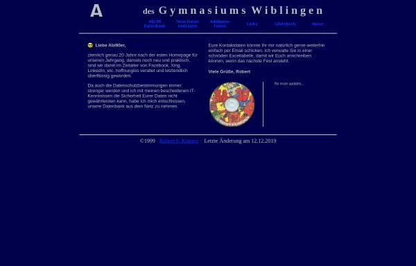 Vorschau von www.kriegeronline.de, Ulm - Gymnasium Wiblingen