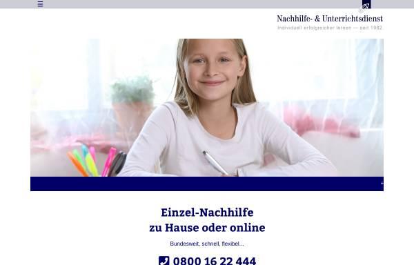 Vorschau von www.nachhilfe.com, Nachhilfe- und Unterrichtsdienst