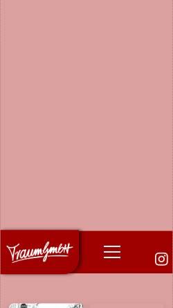 Vorschau der mobilen Webseite traumgmbh.de, Traum GmbH