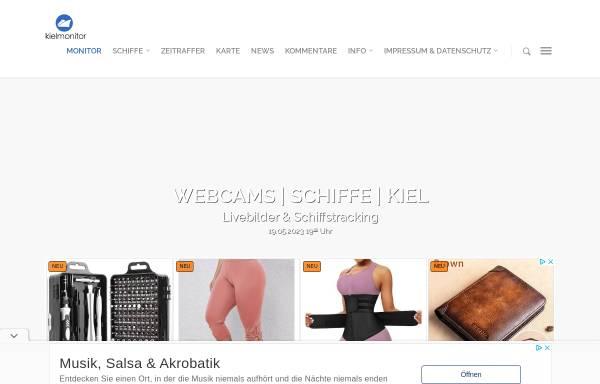 Vorschau von www.kielmonitor.de, Live Bilder aus Kiel