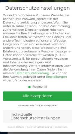 Vorschau der mobilen Webseite www.pferdeverband-ndb-opf.de, Pferdezuchtverband Niederbayern-Oberpfalz e.V.