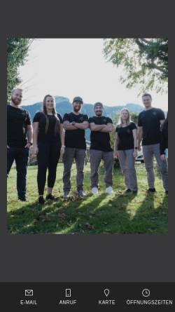 Vorschau der mobilen Webseite www.chiemgauphysio.de, Chiemgauphysio - Die Physiotherapie-Praxis