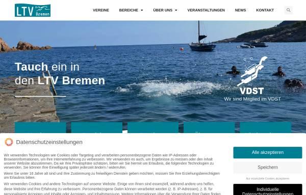 Vorschau von www.ltv-bremen.de, Landestauchsportverband Bremen (LTV-Bremen)