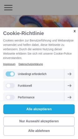 Vorschau der mobilen Webseite www.desenfant.de, Desenfant, Catherine