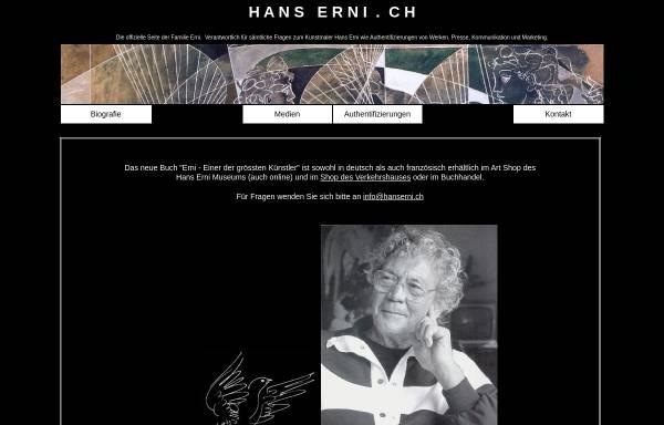 Vorschau von www.hans-erni.ch, Erni, Hans