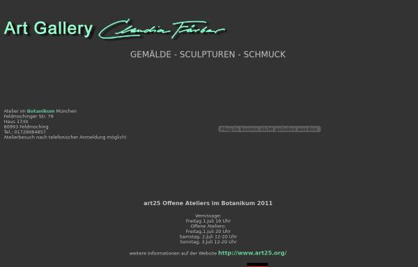 Vorschau von www.claudia-faerber.com, Färber, Claudia