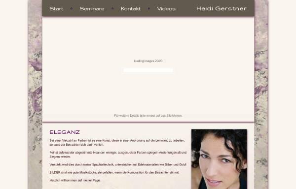 Vorschau von www.heidi-gerstner.de, Gerstner, Heidi