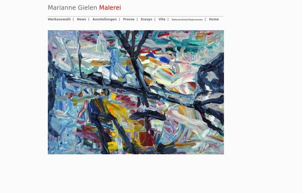Vorschau von www.marianne-gielen.de, Gielen, Marianne