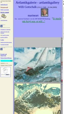 Vorschau der mobilen Webseite www.artlantikgalerie.de, Gottschalk, Willi