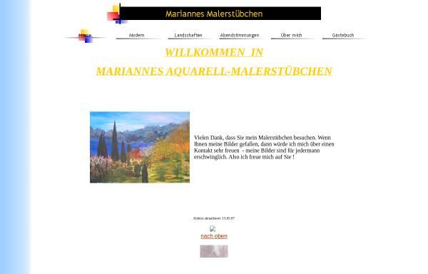 Vorschau von www.marianne-graef.de, Gräf, Marianne