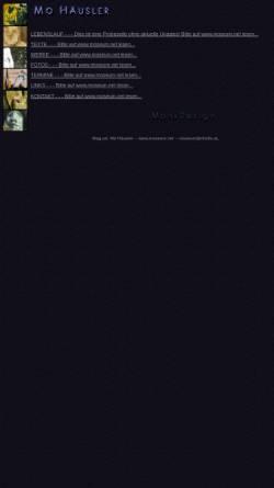 Vorschau der mobilen Webseite moseum.heimat.eu, Häusler, Mo