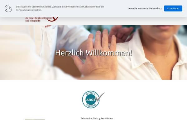 Vorschau von www.schuster-praxis.de, Christoph Schuster - Die Praxis für Physiotherapie und Chiropraktik