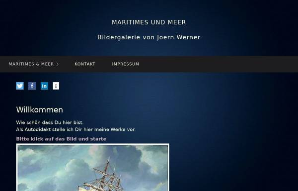 Vorschau von www.joernwernerarte.de, Werner, Joern