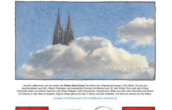 Vorschau von koelner-domkunst.de, Wolff, Joachim -Kölner Domkunst