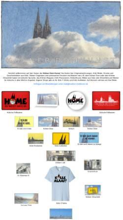 Vorschau der mobilen Webseite koelner-domkunst.de, Wolff, Joachim -Kölner Domkunst