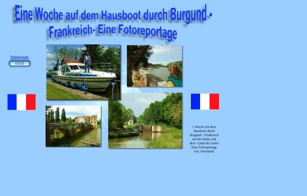 Vorschau von fotoreport.info, Urlaub auf dem Hausboot in Burgund [Jörg Kemmler]
