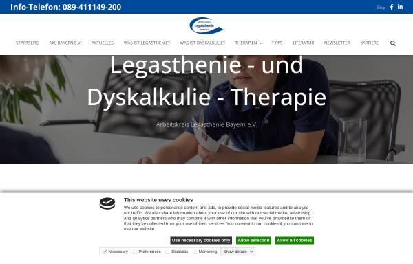 Vorschau von www.akl-bayern.de, Arbeitskreis Legasthenie e.V.
