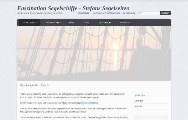 Vorschau von www.peltis.de, Stefans Segelseiten