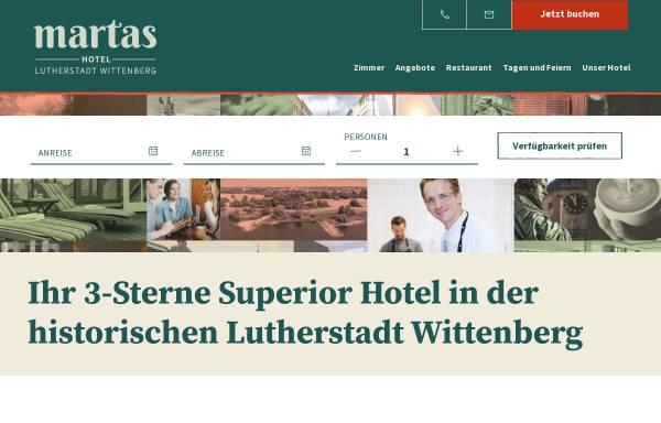 Vorschau von www.luther-hotel-wittenberg.de, Luther-Hotel Wittenberg