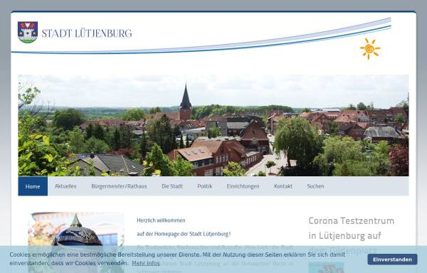 Vorschau von www.stadt-luetjenburg.de, Stadt Lütjenburg