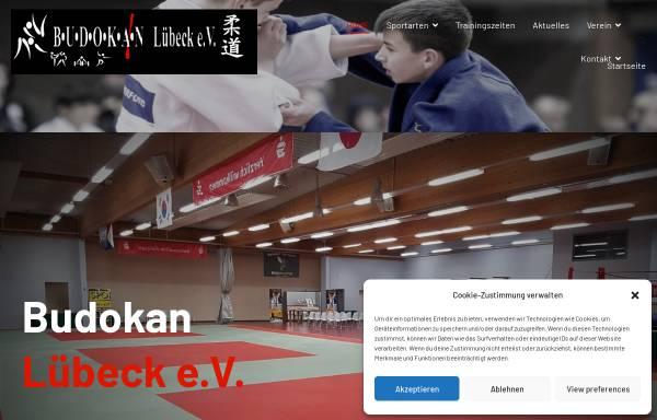 Vorschau von www.sportzentrum-budokan.de, Sportzentrum BUDOKAN Lübeck e.V.