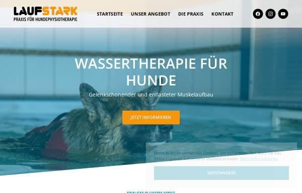 Vorschau von www.laufstark-praxis.de, Laufstark - Praxis für Hundephysiotherapie