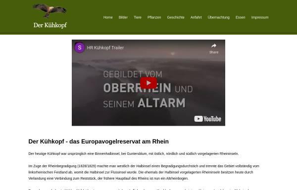 Vorschau von www.kuehkopf.de, Kühkopf