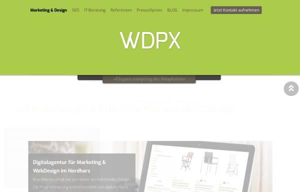 Vorschau von www.wdpx.de, WDPX-Wollweber