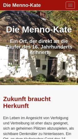 Vorschau der mobilen Webseite www.mennokate.de, Mennokate Bad Oldesloe