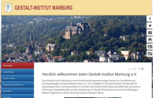 Vorschau von www.gestalt-forum.de, Gestalt-Institut Marburg