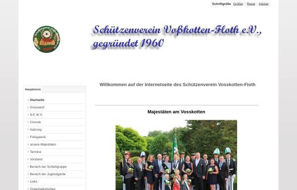 Vorschau von www.vosskotten-floth.de, Schützenverein Voßkotten-Floth e.V.