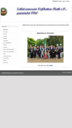 Vorschau der mobilen Webseite www.vosskotten-floth.de, Schützenverein Voßkotten-Floth e.V.