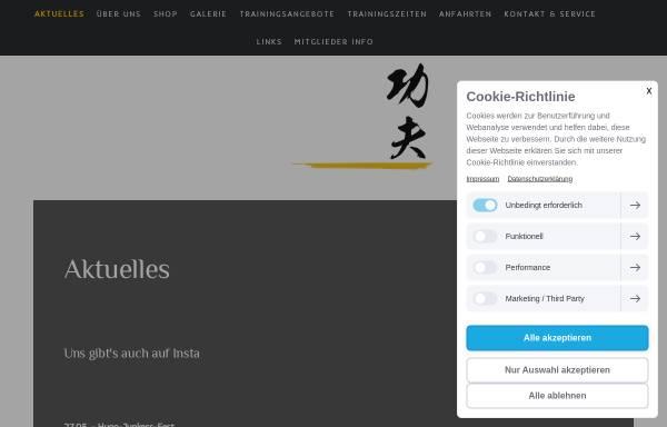 Vorschau von www.shaolin-dessau.de, Deutsch-Chinesische Kulturbund für Shaolin Kung Fu e.V.
