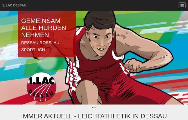 Vorschau von www.lac-dessau.de, 1. Leichtathletik Club Dessau e.V. (LAC)