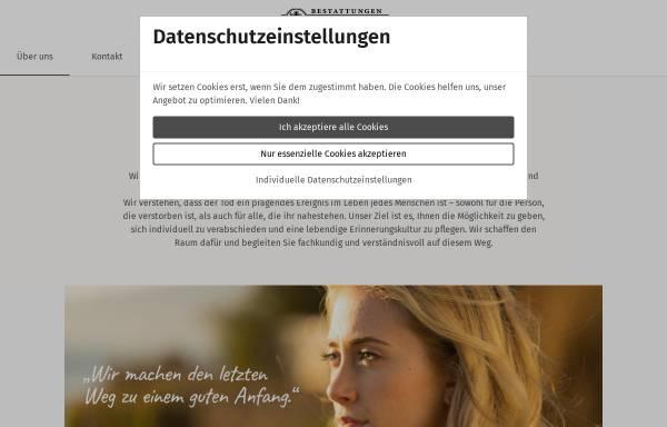 Vorschau von www.bestattungen-besch.de, Bestattungsinstitut Olaf Besch