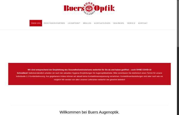Vorschau von www.buers-augenoptik.de, Buers Augenoptik, Inh. Karl-Heinrich Böhm
