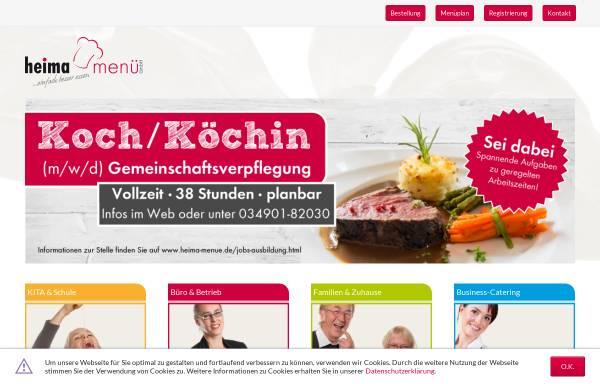 Vorschau von www.heima-versorgung.de, Heima-Versorgungseinrichtung