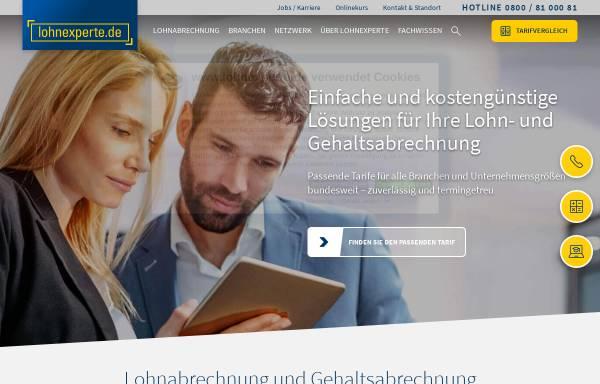 Vorschau von www.lohnexperte.de, lohnexperte AG