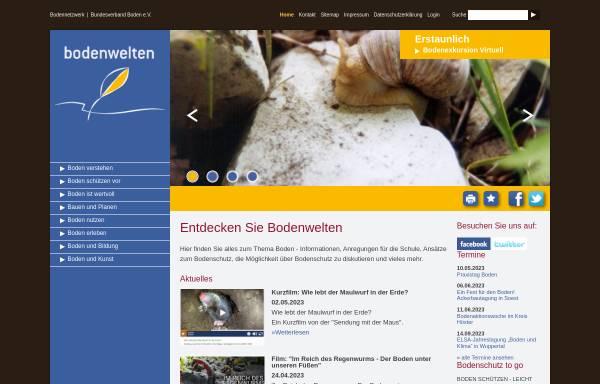 Vorschau von www.bodenwelten.de, Bodenwelten.de