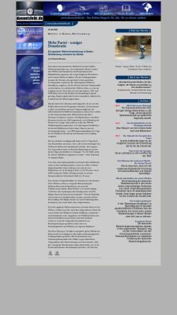 Vorschau der mobilen Webseite www.mynetcologne.de, das Netz lebt