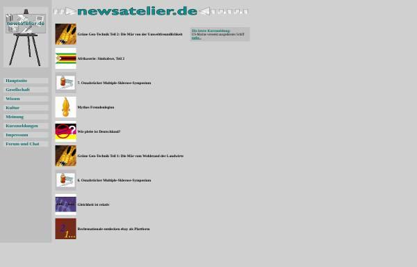 Vorschau von www.newsatelier.de, Newsatelier
