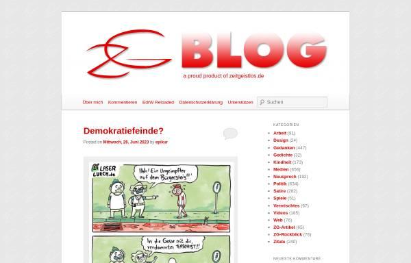 Vorschau von www.zeitgeistlos.de, Zeitgeistlos
