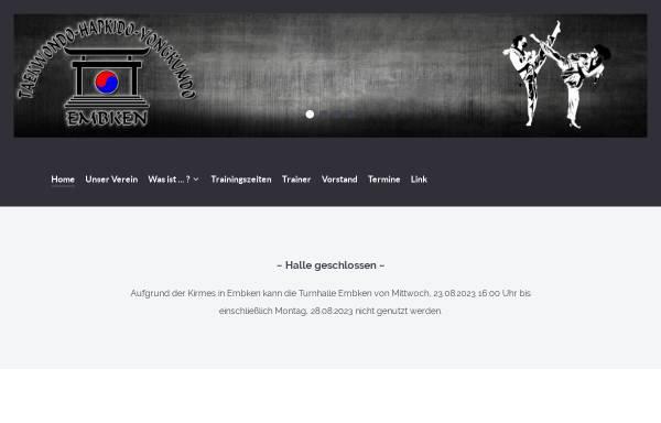 Vorschau von www.taekwondo-embken.de, FC Blau Weiß Embken - TaeKwonDo