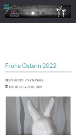Vorschau der mobilen Webseite www.taekwondo-embken.de, FC Blau Weiß Embken - TaeKwonDo