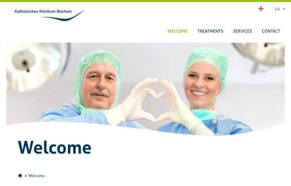 Vorschau von www.klinikum-bochum.de, Klinik für Dermatologie und Allergologie
