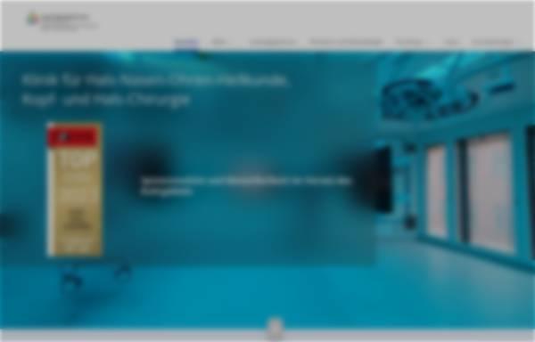 Vorschau von www.uk-essen.de, Universitäts-Hals-Nasen-Ohren-Klinik