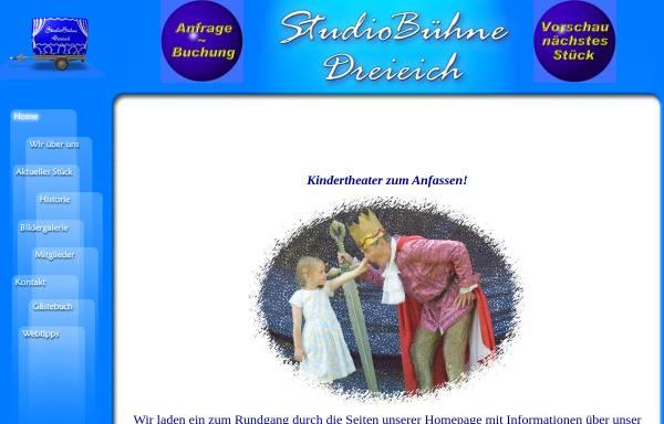 Vorschau von www.studiobuehne-dreieich.de, Dreieich, Studiobühne