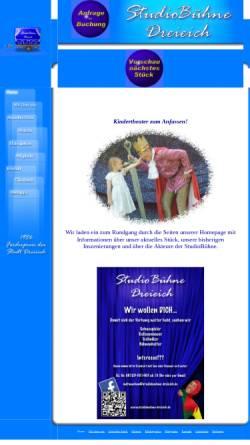 Vorschau der mobilen Webseite www.studiobuehne-dreieich.de, Dreieich, Studiobühne