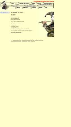 Vorschau der mobilen Webseite www.harlekin-von-luzern.ch, Ensemble Harlekin von Luzern